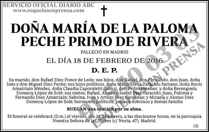 María de la Paloma Peche Primo de Rivera